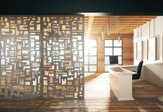 Laser cut patterns by Móz Designs » Retail Design Blog