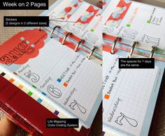DIYfish | Printables for Pocket Filofax | Amazing Life | Life Mapping Theme