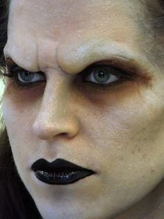 Vampire / Werewolf Brow Prosthetic Horror by KensaiFX on Etsy