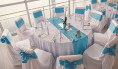 17 beach wedding decor ideas - Ceremony and reception