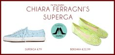 Chiara Ferragni for Superga Dupes here: http://www.fashiondupes.com/2013/06/7-99-dupes-chiara-ferragni-for-superga.html