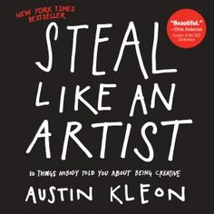 """Steal Like an Artist"" by Austin Kleon. Beautifully written and illustrated. A breeze to read - might take you less than an hour to get through - but the rest of your life to digest. If you don't pick this up and want to create something immediately, you might want to check your pulse."