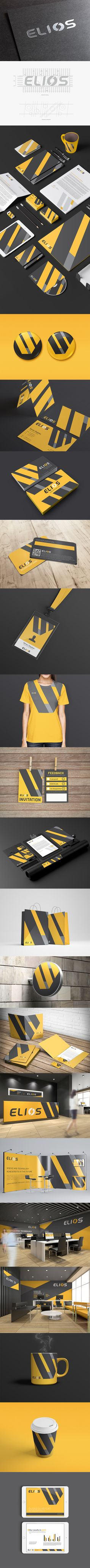 Elios Branding corporate identity by Rayz Ong