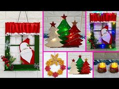 (4) Economical 4 Easy Christmas Craft idea | Best out of waste Low budget Christmas craft idea (Part 8) - YouTube Dollar Tree Christmas, Christmas On A Budget, Easy Christmas Crafts, Simple Christmas, Kids Christmas, Christmas Decorations, Xmas, Christmas Ornaments, Holiday Decor