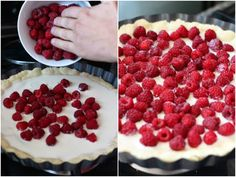 Ideas que mejoran tu vida Quiche, Banana Bread, Cake Recipes, Raspberry, Food And Drink, Sweets, Chocolate, Fruit, Cooking