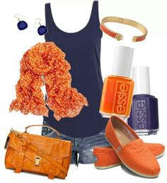 Good example of how to accessorize a plain outfit