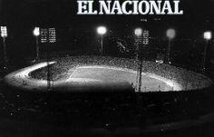 Estadio Universitario. Caracas, 04-02-1983 (JOSE SARDA / ARCHIVO EL NACIONAL)