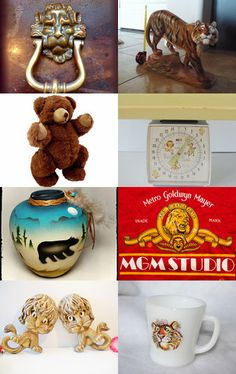 LIONS TIGERS AND BEARS...OH MY! by Terese USA Eastern Time Zone on Etsy--Pinned…