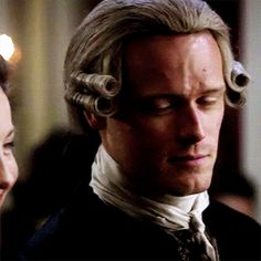 """itsclairefraser: """"Do you remember when we were like that, so obvious in public. Aye. Couldna keep yer hands off me. 'Course, you were holding on from the back of the horse. """""""