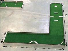 portable mini golf miniature putt putt mobile golf course for sale manufacturer hole 5