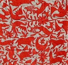 Otomi Textiles... son iguales a los mexicanos bordados de colores...