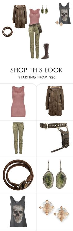 """""""Untitled #615"""" by julianne-lalonde ❤ liked on Polyvore featuring American Vintage, Balmain, Lucky Brand, H&M, Kimberly McDonald and Suzanne Kalan"""