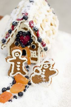 Paleo and AIP gingerbread house. Gluten-free, grain-free, egg-free, dairy-free, nut-free!