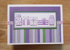 SOLD - Birthday Card handmade by AngelBDesigns4You, $4.50. Like us on Facebook www.facebook.com/AngelBDesigns4You