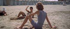 """Plage du Lido - """"Mort à Venise"""", Luchino Visconti"""