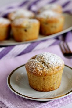 Banana Cupcakes, English Food, Mini Desserts, Healthy Baking, Cake Cookies, Biscotti, Finger Foods, Breakfast Recipes, Sweet Tooth
