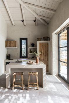 Vincenzo De Cotiis, Rough Wood, Scandinavian Home, Two Bedroom, Greece Travel, Villas, Luxury Villa, Exposed Wood, Architecture Design
