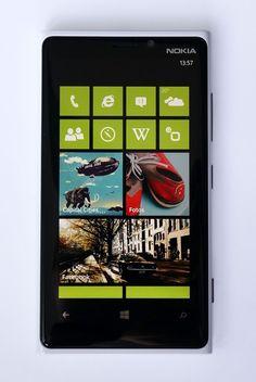 Der Homescreen vom Nokia Lumia 920