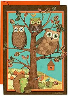 Owls Debbie Mumm's