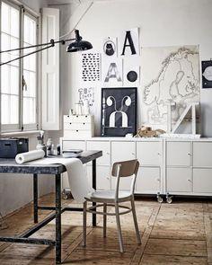 mueble blanco -almacenamiento