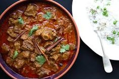 Lamb Rogan Josh more specifically the Kashmiri version is wonderful. It has a thick gravy made of yoghurt, chilli and ginger. A delight to the tastebuds. Indian Food Recipes, My Recipes, Ethnic Recipes, Lamb Rogan Josh, Hottest Curry, Goat Meat, Lamb Curry, Fresh Coriander, Curry Paste