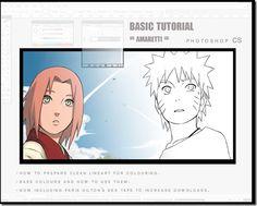 42 Manga And Anime Art Photoshop Tutorials