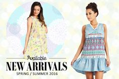 Check out Available for their SS 2016 collection debut!  #wholesalefashion #fashion #spring
