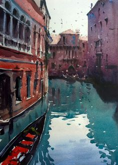 Venice, Rio dei Barcaroli waterway, Tim Wilmot