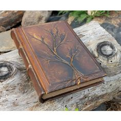wedding guest book.leather bound. - Google Search