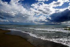 Bellissima la spiaggia di Marina di Grosseto, grazie a Nunzio per averci fatto sognare per un attimo di essere lì!