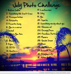 July Photo Challenge Picture by Miche09 - Inspiring Photo
