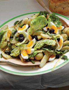 Filled with flavor and protein, this Fish-Free Salad Niçoise recipe is a tasty twist on the classic.data-pin-do=