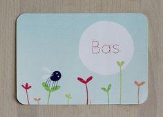 kaartje 'Bas'