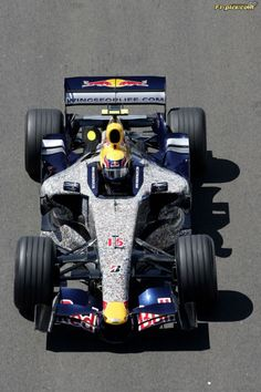 Formula One Grand Prix of Great Britain, practice and qualifying, Saturday. Image shows Mark Webber (AUS/ Red Bull Racing). GP Britain 2007