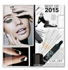 """""""Best of 2015: Nails 2"""" by prigaut ❤ liked on Polyvore featuring beauty, Barry M, Christian Dior, Victorinox Swiss Army, Models Own, Ciaté, Essie, Nicki Minaj, nailart and Beauty"""
