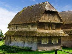 """Korablja"" tipical traditional wooden house of #Turopolje region, #Croatia"