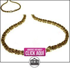 80 cm de cadena de rey - 585 oro amarillo - 3,5 mm  ✿ Joyas para hombres especiales - lujo ✿ ▬► Ver oferta: http://comprar.io/goto/B06X1FJ134
