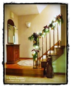 P. Allen Smith's Rustic Collection and our library- Holiday Cheer Challenge
