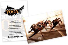 BoxingYoga™ Business Cards – BoxingYoga™ Retail Store
