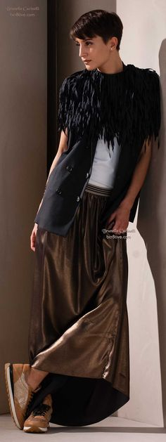 Brunello Cucinelli Spring 2015 ***day or night...and totally comfortable!!! s-c