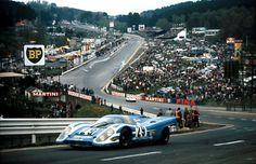 Porsche 917K at the 1972 1000km of Spa