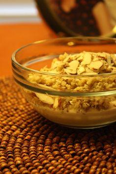 Pumpkin Yogurt sugar-free dessert from Healthy Hits the Spot