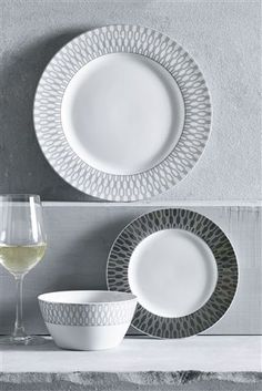 Buy 12 Piece Decadence Dinner Set from the Next UK online shop