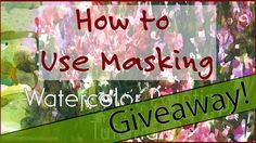 How to Use Masking + Sketch Giveaway!!!