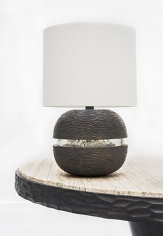 Anja Table Lamp (bronze and resin)  Munira Collection by Francis Sultana for Marc De Berny (www.marcdeberny.com)