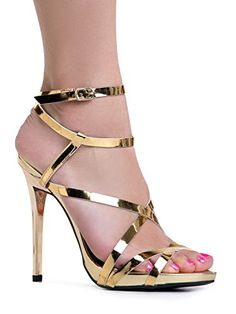 Women's Ankle Strap High Heel Sandals | Dress, Wedding, P…