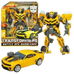 bumble bee transformer toy | Transformers Battle Ops Bumblebee toy - Price to be confirmed.