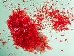 Brillantina comestible casera - Glitter ~ Pasteles de colores