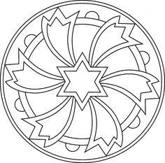 Index of /albums/photos/desenhos_mandala Free Adult Coloring Pages, Mandala Coloring Pages, Coloring Book Pages, Printable Coloring Pages, Mandala Pattern, Mosaic Patterns, Pattern Art, Mandalas Drawing, Mandala Painting