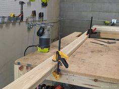 Mobile Workbench with Table Saw | Garage Workbench Plans, Table Saw Workbench, Building A Workbench, Mobile Workbench, Woodworking Furniture Plans, Woodworking Workbench, Woodworking Projects Diy, Rolling Workbench, Workbench Ideas
